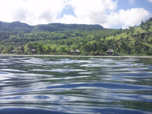 The beautiful, mild waters off Atauro Island