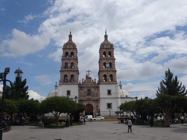 The Plaza de Armas. Beneath lies the old tunnels/mock mine